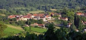La Montagne de Brancion entre Tournus et Cluny ©D.Guilloux.