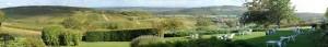 PANORAMA - La Montagne de Brancion entre Tournus et Cluny