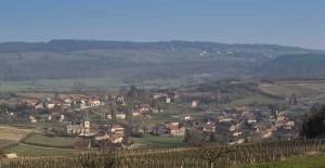 Extérieur Brancion entre Tournus et Cluny