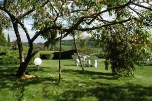 Recolte de septembre - La Montagne de Brancion entre Tournus et Cluny