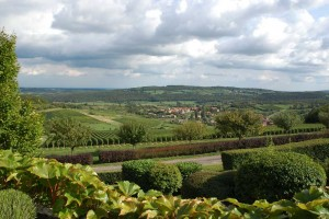 Vue panoramique Martailly-lès-Brancion entre Tournus et Cluny