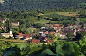 La Montagne de Brancion entre Tournus et Cluny