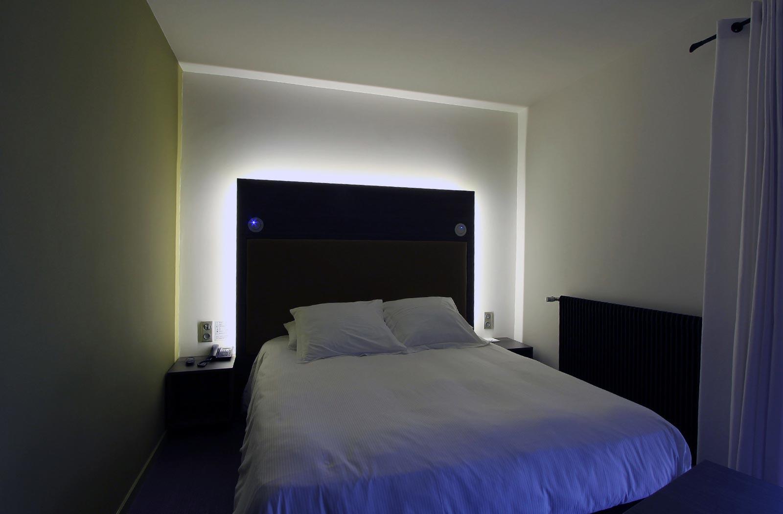 Chambre harmonie hôtel La montagne de Brancion entre Tournus et Cluny