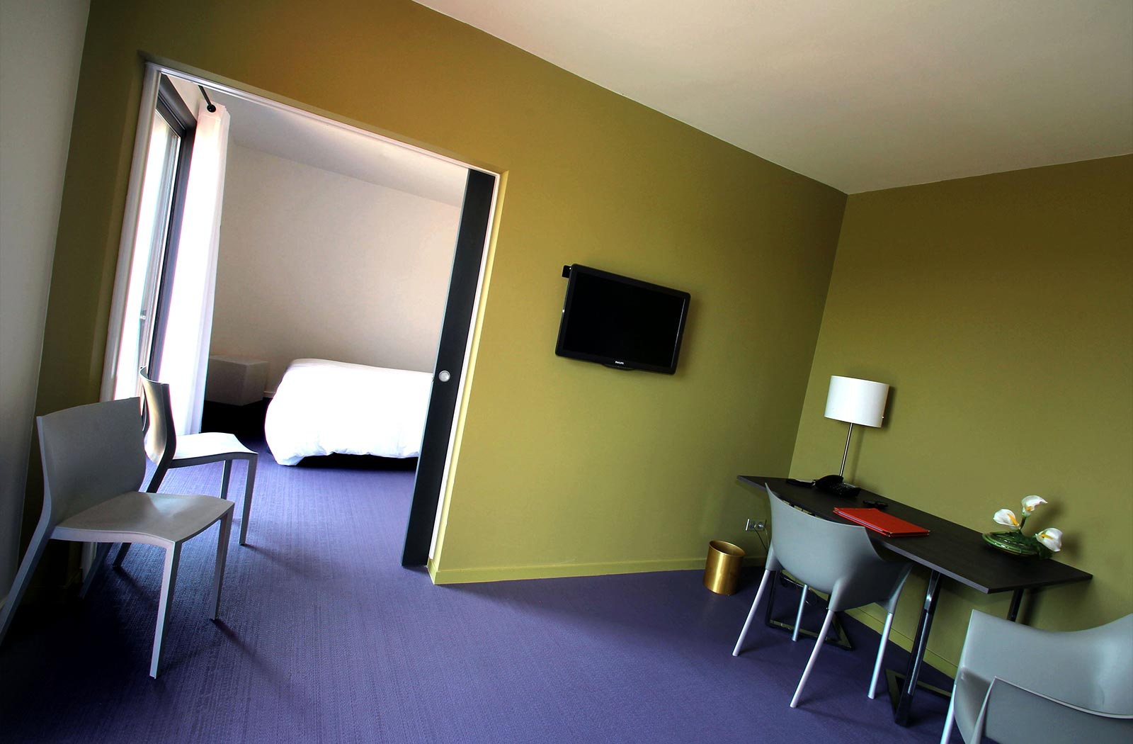 Suite de Luxe à l'Hôtel la Montagne de Brancion entre Tournus et Cluny