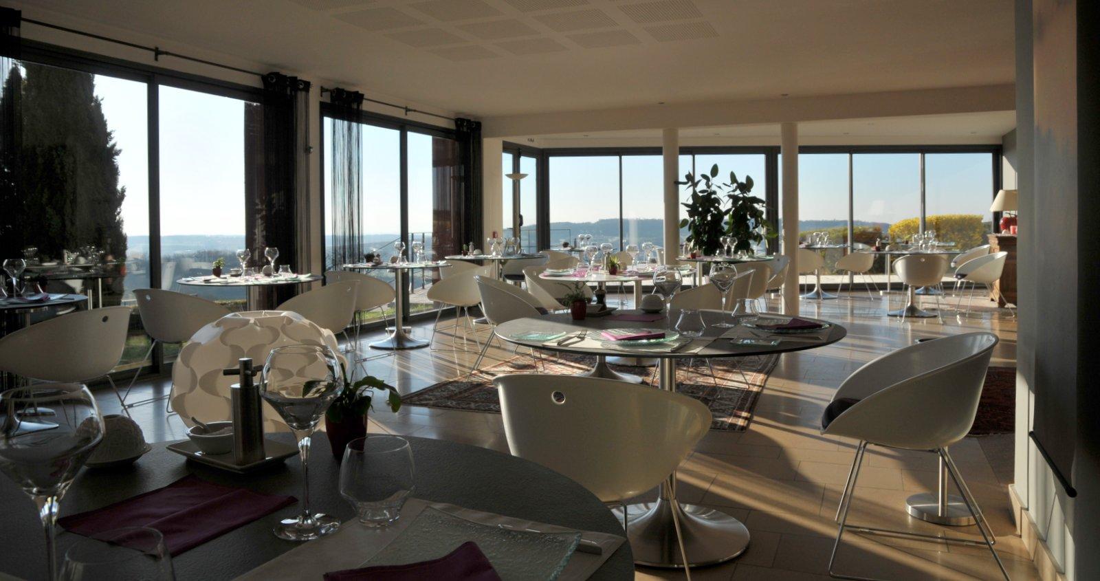Restaurant Le Garde-Manger avec vue panoramique