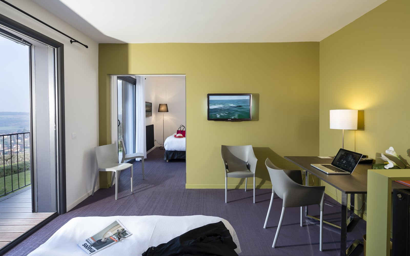 Hôtel 4* La Montagne de Brancion suite de luxe