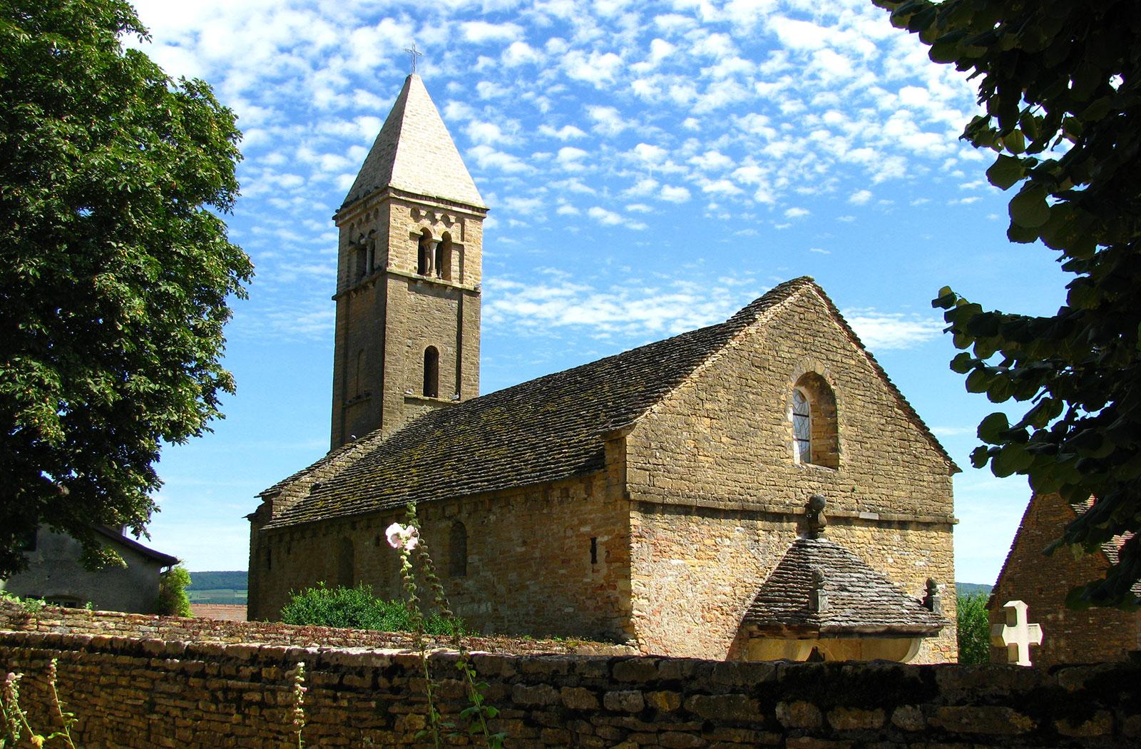 la montagne de brancion randonnée églises romanes