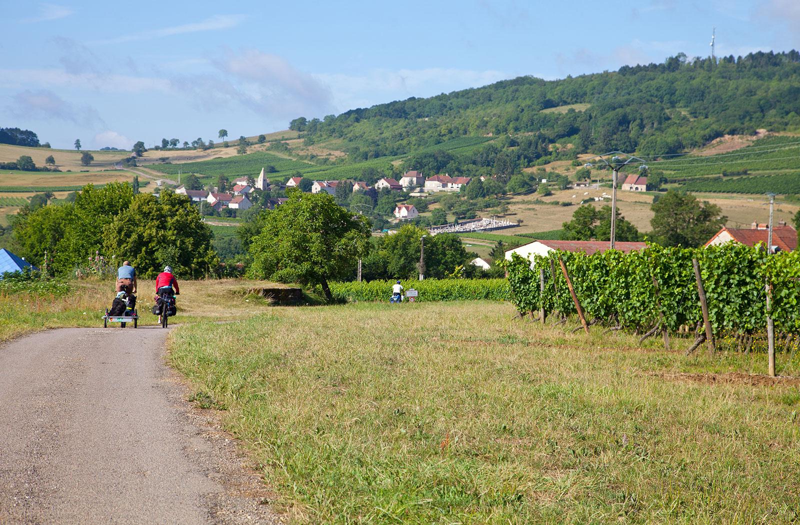 la montagne de brancion randonnée vélos